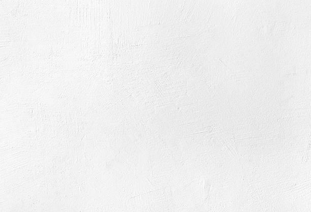 White plaster texture background stock photo