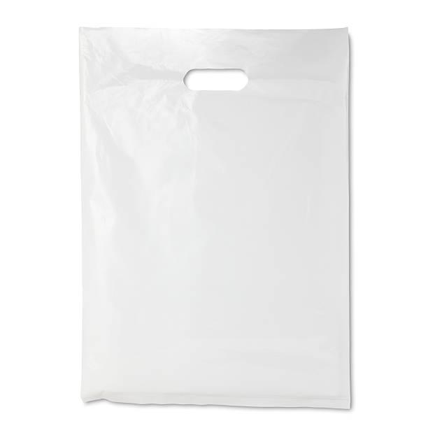 sac en plastique blanc - sac en plastique photos et images de collection