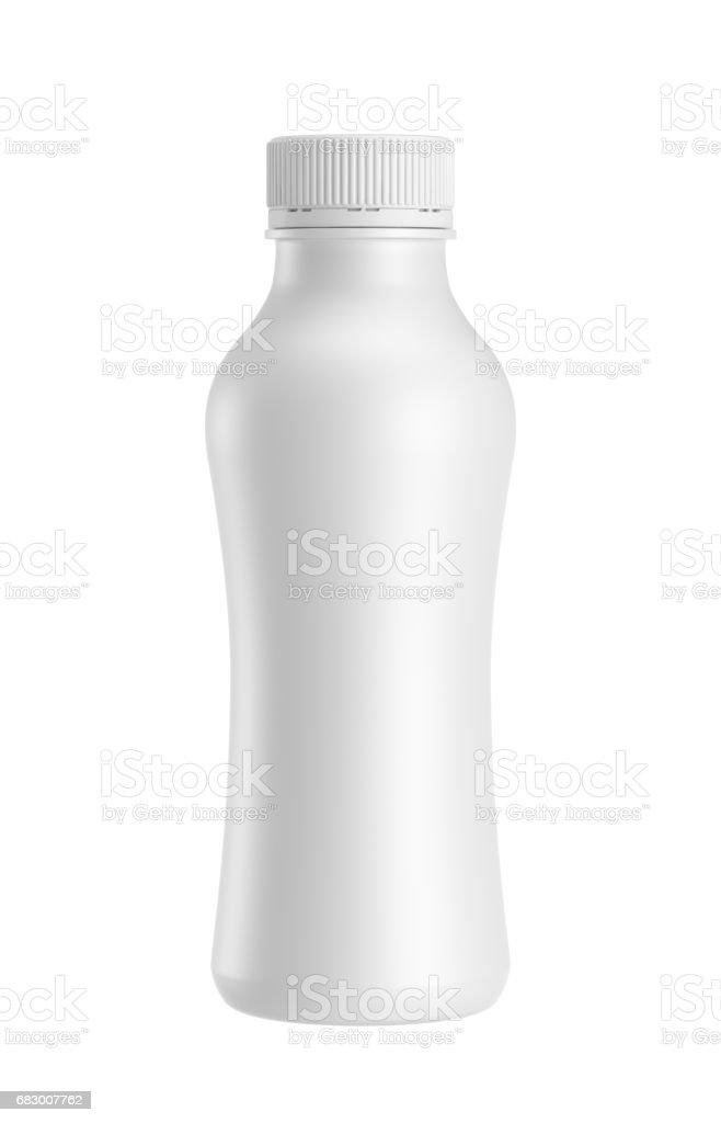 white plastic bottle foto de stock royalty-free