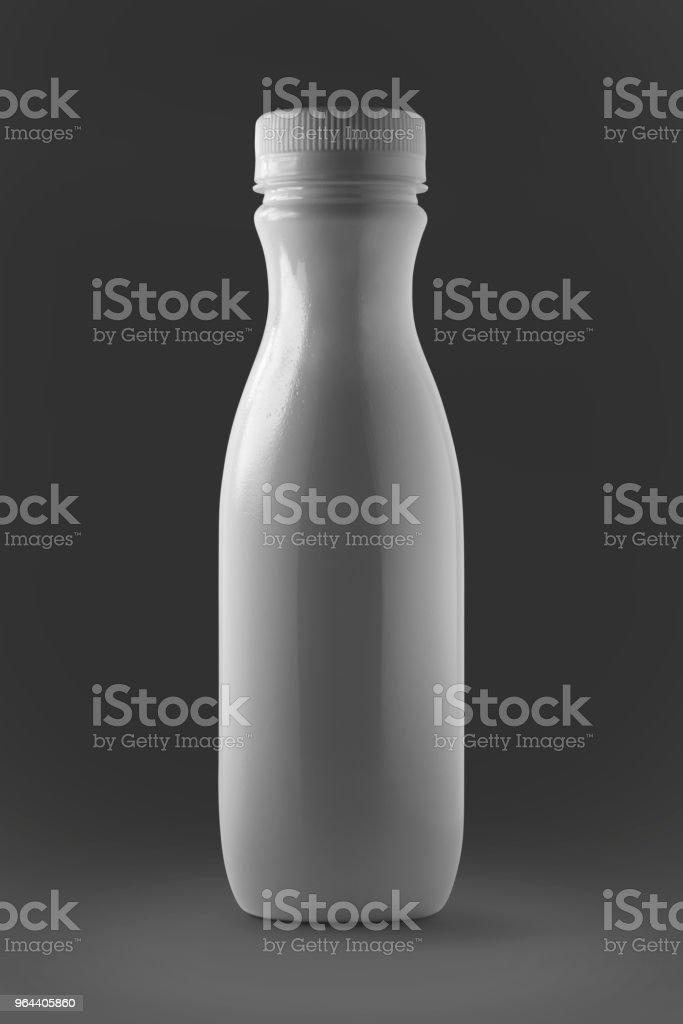 white plastic bottle - Royalty-free Bottle Stock Photo