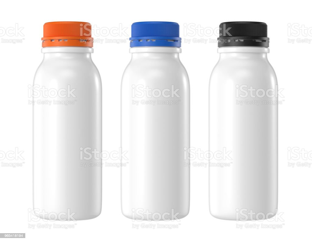 white plastic bottle royalty-free stock photo