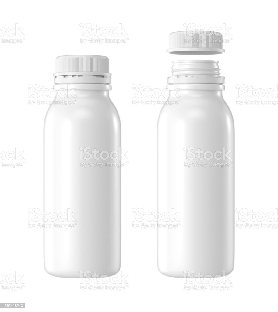 white plastic bottle royalty-free stock photo