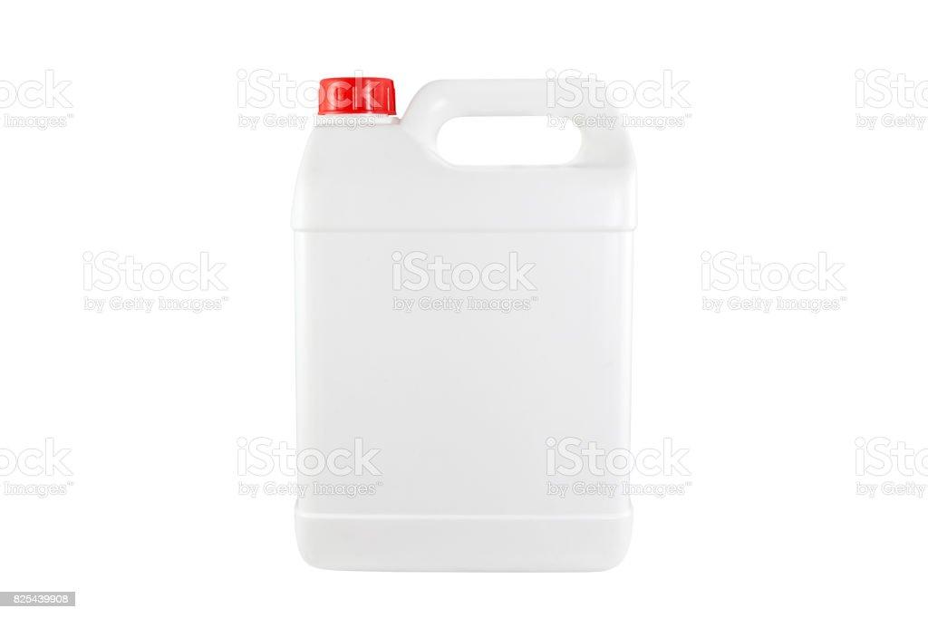 Bouchon de réservoir en plastique blanc rouge - Photo