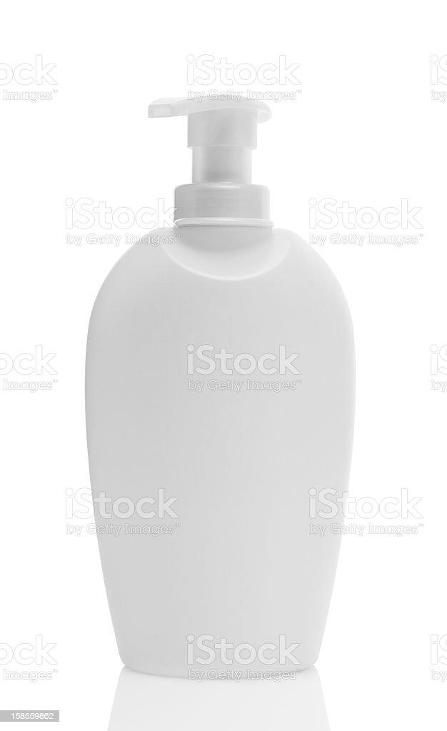 흰색 플라스틱 비누 병 royalty-free 스톡 사진