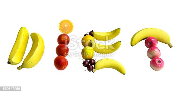 istock white plate with laid out on her word diet composed 650647288