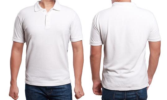 White Polo Shirt Design Template Stock Photo - Download ...