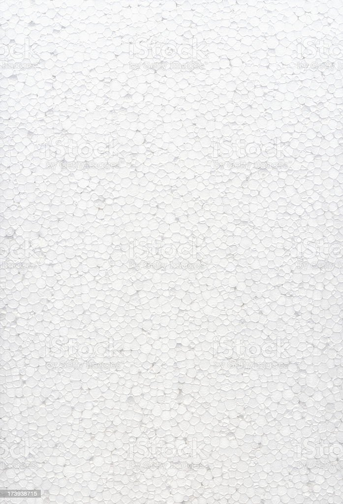 White polystyrene background royalty-free stock photo