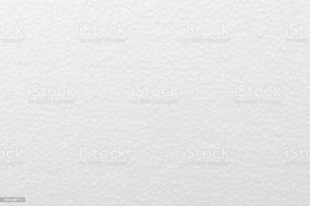 White polystyrene texture stock photo
