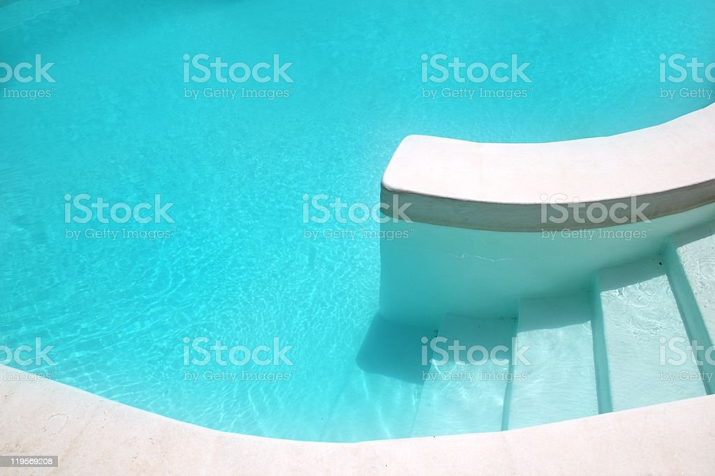 white pool turquoise water clean composition royalty-free stock photo