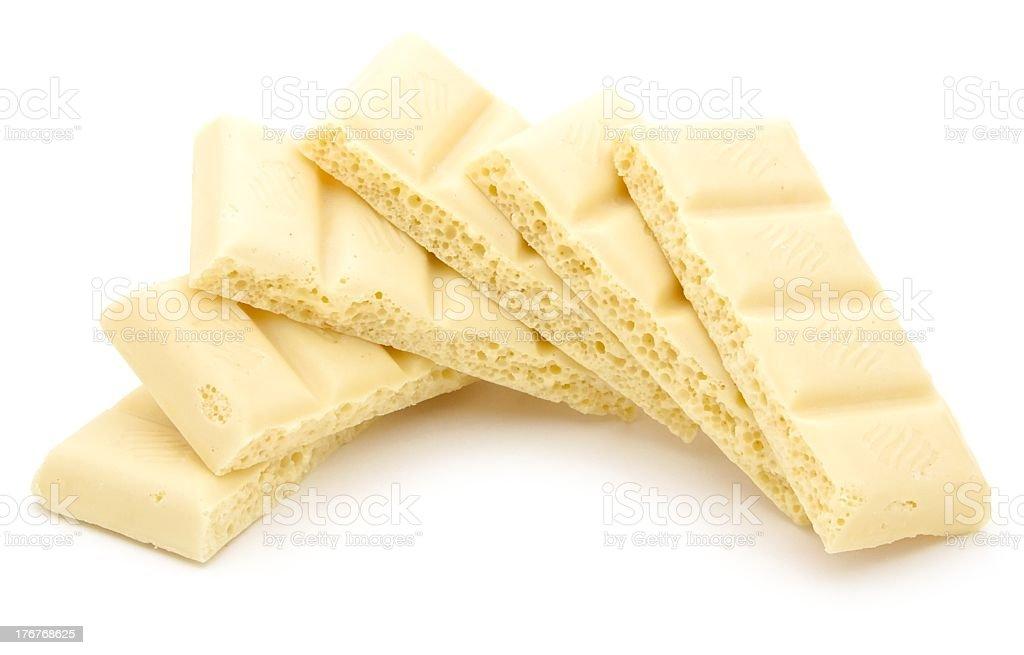 white porous chocolate stock photo