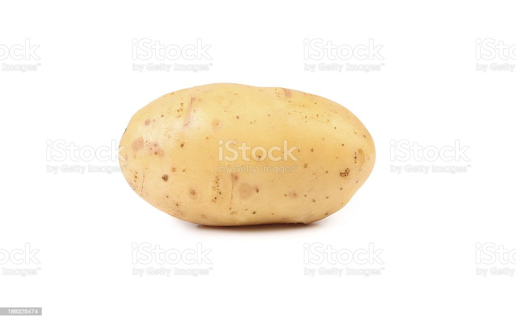 White potato royalty-free stock photo