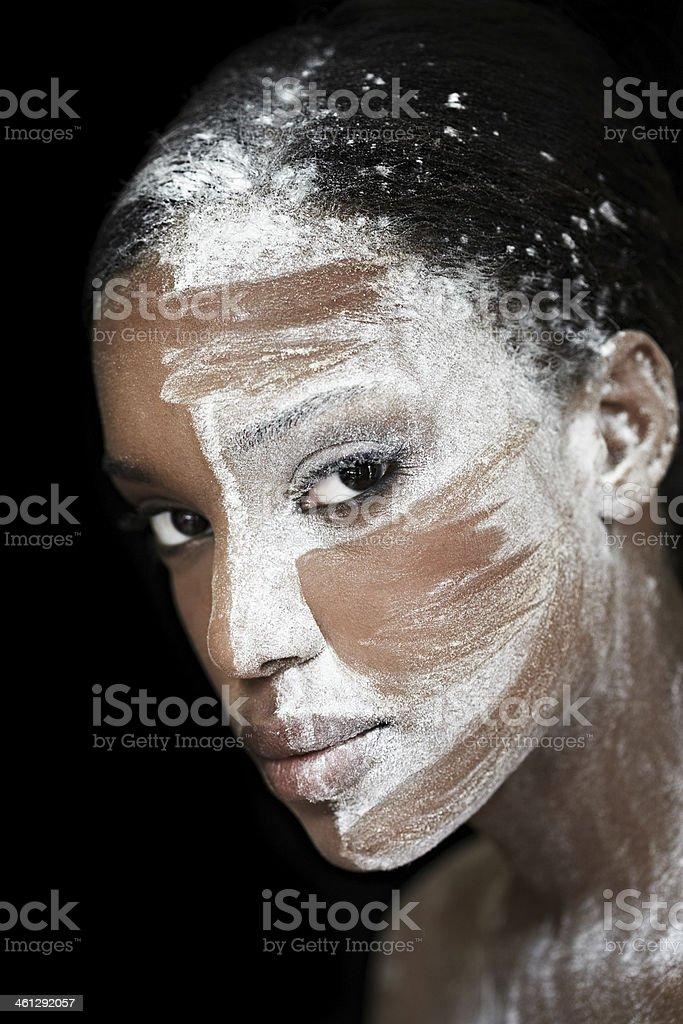 White Powder royalty-free stock photo