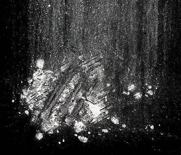 백색 파우다 - 코카인 뉴스 사진 이미지