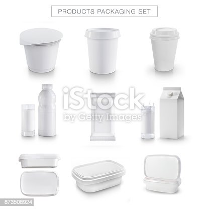 istock White product packaging 873508924