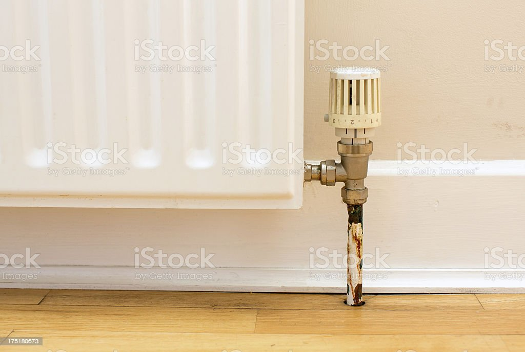 White radiator royalty-free stock photo