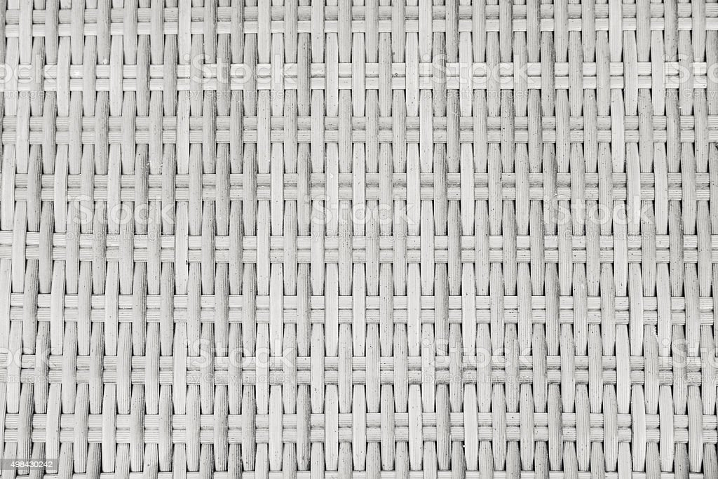 White rattan textured backgrounds stock photo