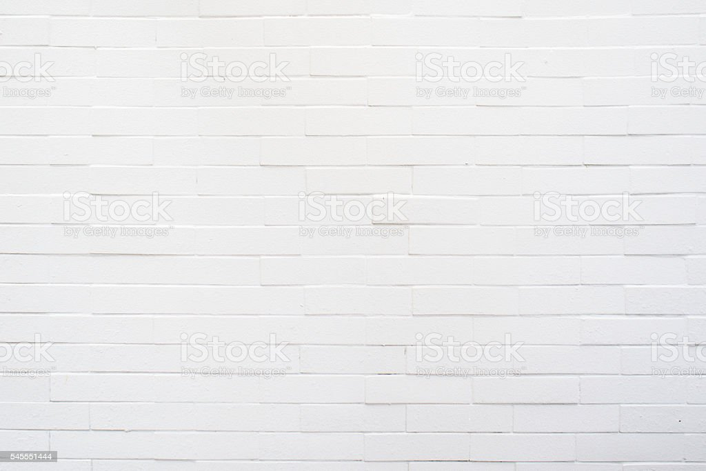 white rectangle brick mosaic in rectangle form stock photo