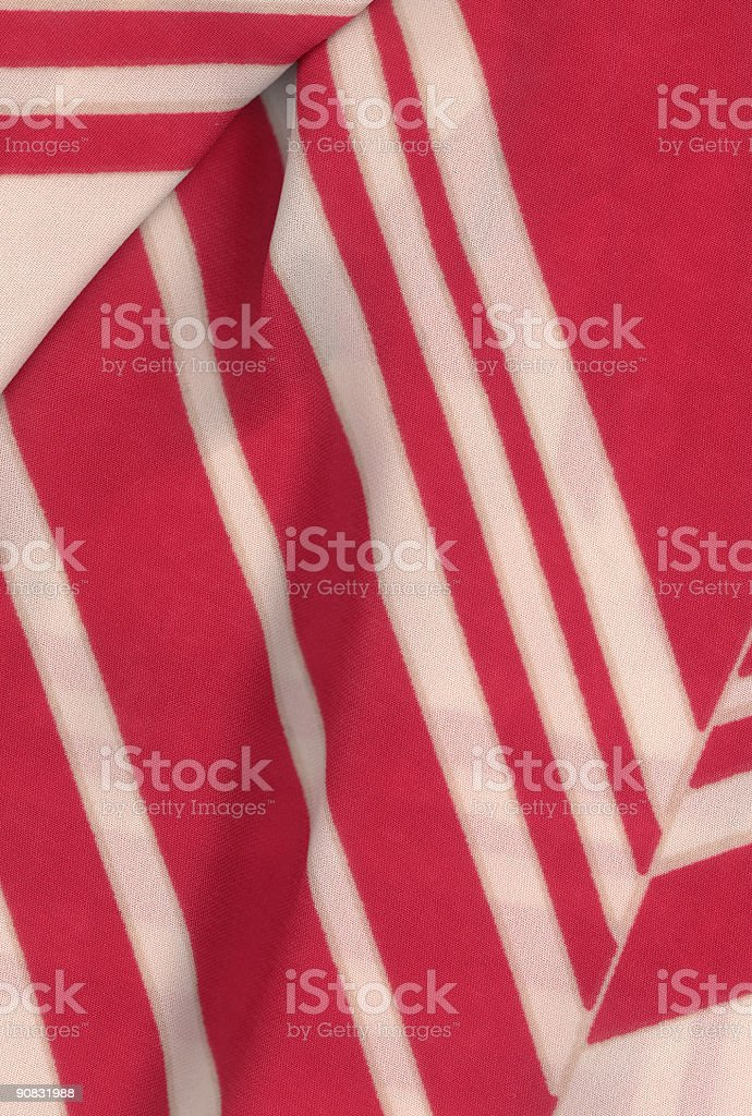 White red striate fabric 2 royalty-free stock photo