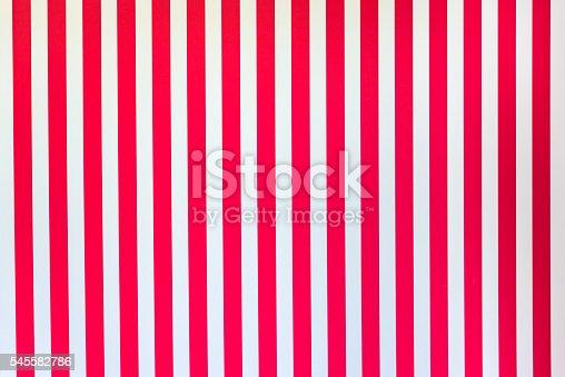 istock White Red stripes 545582786