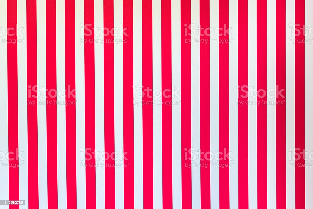 White Red stripes stock photo