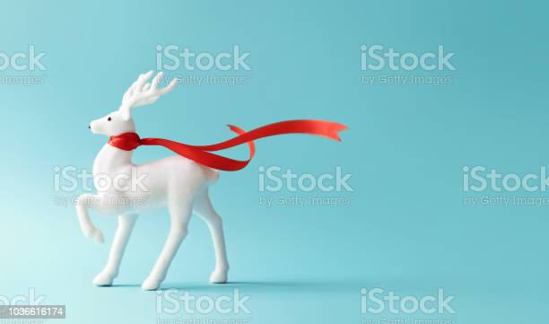 White reindeer with red scarf on pastel blue background picture id1036616174?b=1&k=6&m=1036616174&s=612x612&h=5jxd1 g3iyh1gp lbukcfsv0s0gfc959gc9vw4k7vbo=