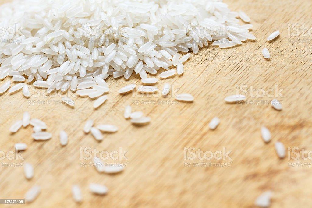 White Rice royalty-free stock photo