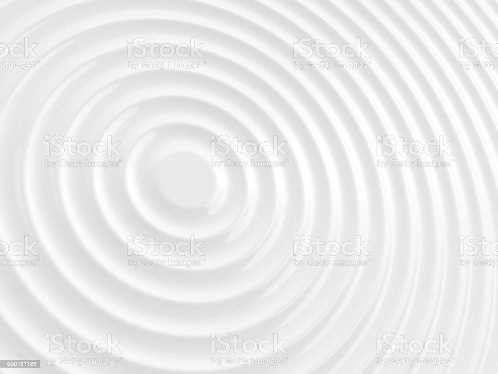 White rippled. stock photo