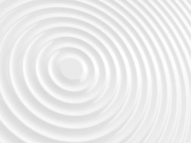 blanc ridée. - cercle concentrique photos et images de collection