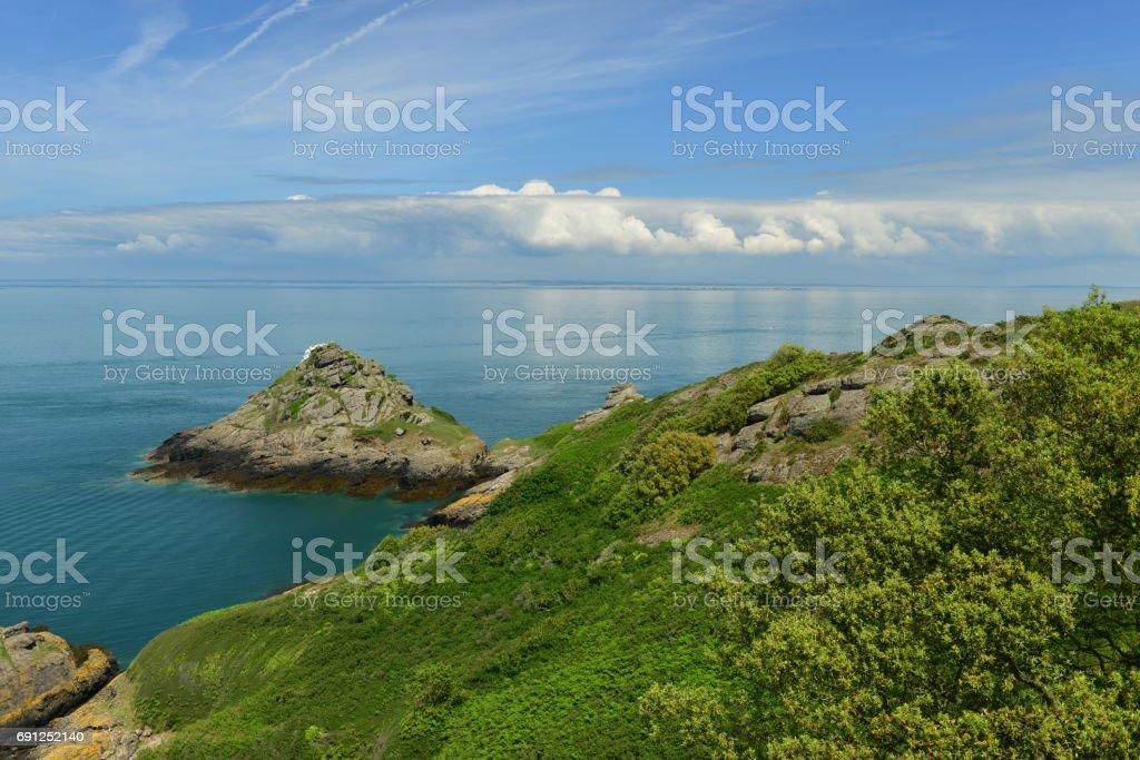 White Rock, Jersey, U.K. stock photo