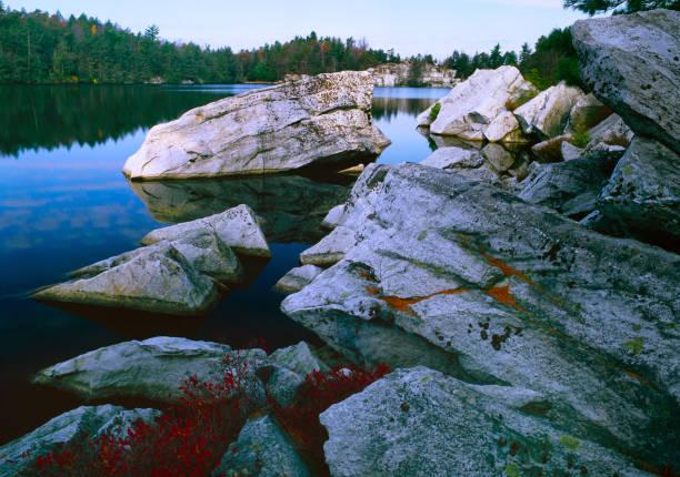 White Rocks stock photo
