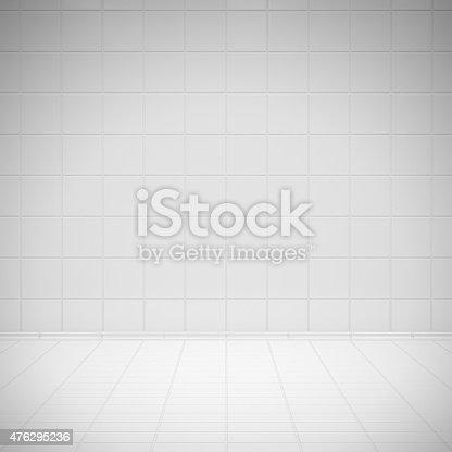 istock White room tiles 476295236