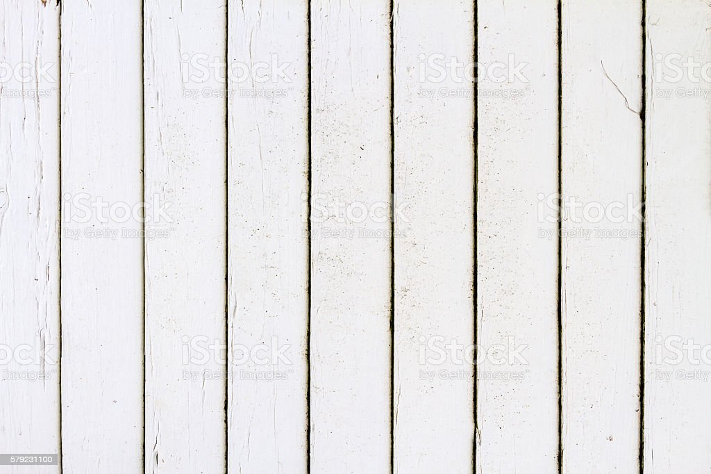 White Rustic Wood Wall Texture Background Stock Photo - Download Image Now