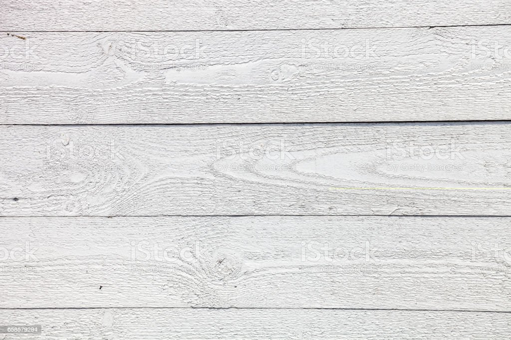 White Rustic Wooden Planks Background Royalty Free Stock Photo
