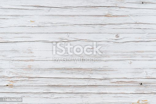Abstract rustic surface wood table texture background. Close up rustic wall made of white wood table planks texture.