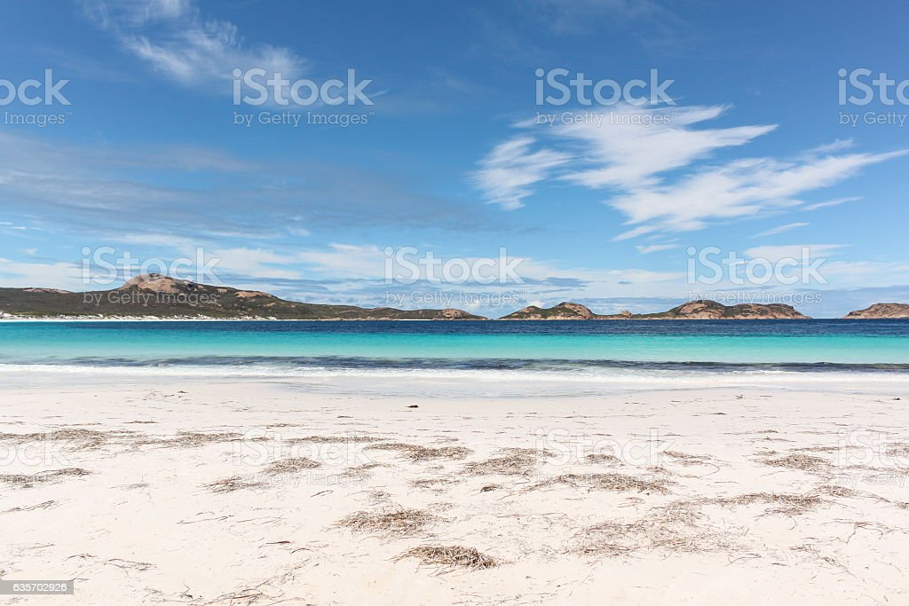 White sand beach at Cape le Grande National Park, Australia. royalty-free stock photo