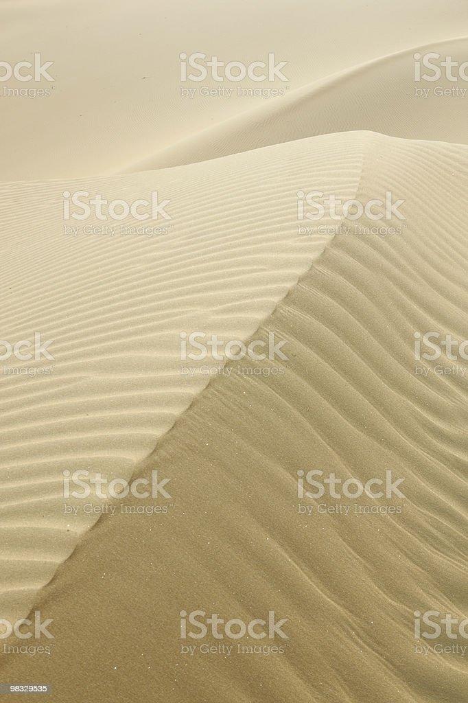 White sand dune royalty-free stock photo