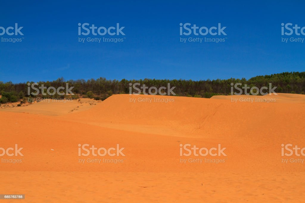 white sand dunes royalty free stockfoto