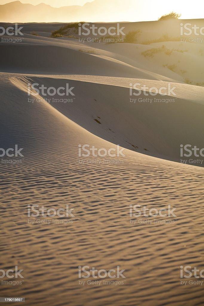 White sand new mexico royalty-free stock photo