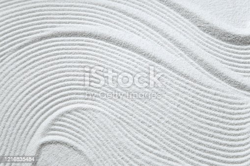 White sand pattern as background