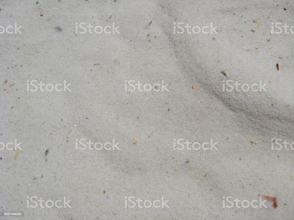 white sand stock photo