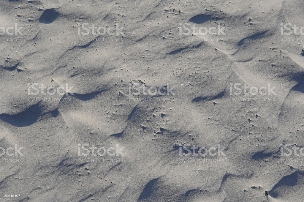white sand royalty-free stock photo