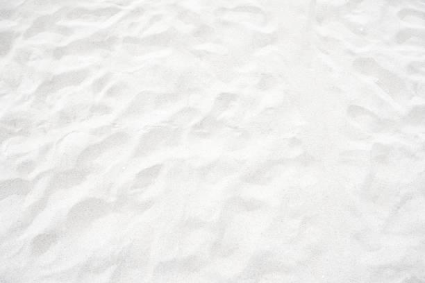 biały piasek tekstury na plaży na tle - piasek zdjęcia i obrazy z banku zdjęć
