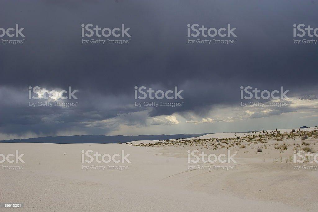 White Sands, New Mexico USA royalty-free stock photo