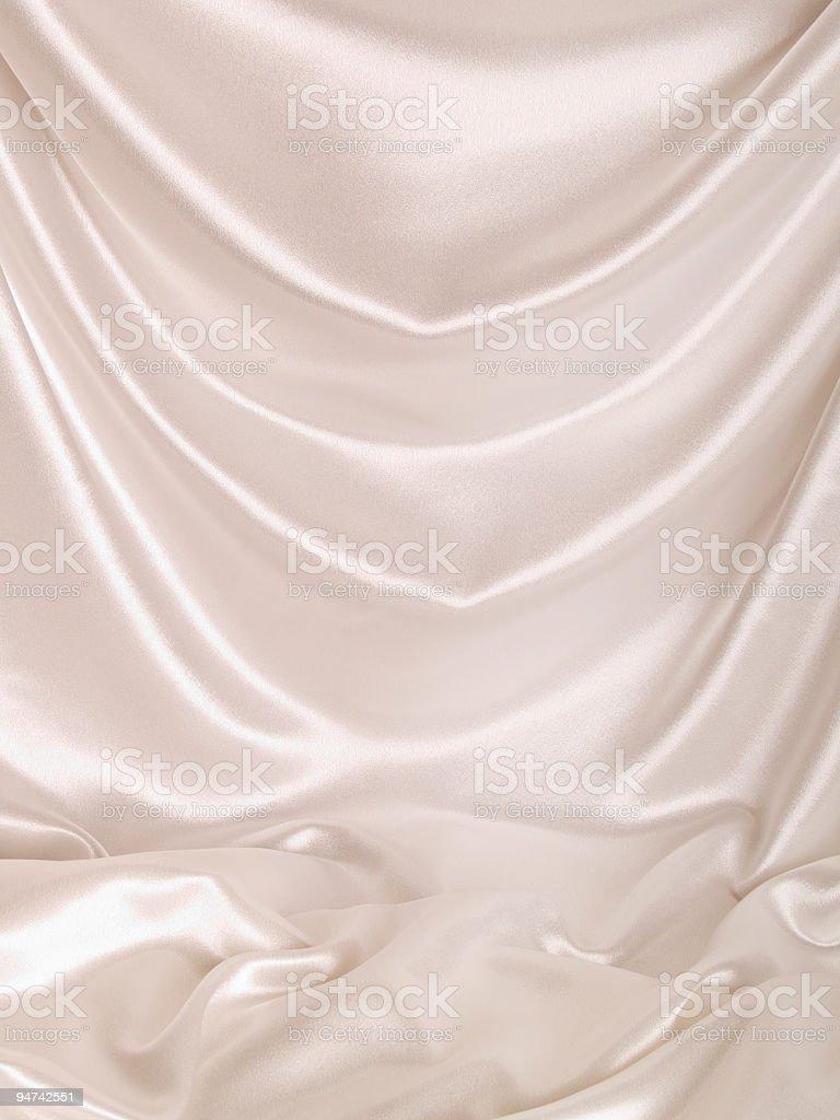 White Satin Backdrop royalty-free stock photo