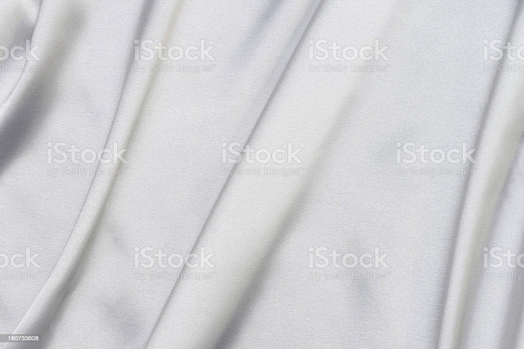 white Satin royalty-free stock photo