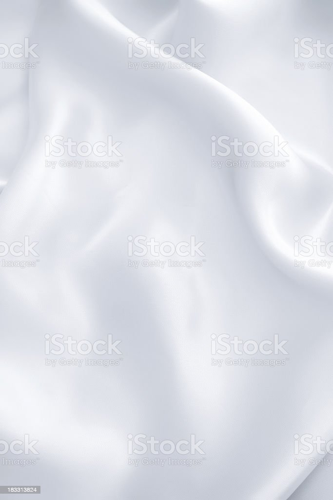 White satin royalty-free stock photo
