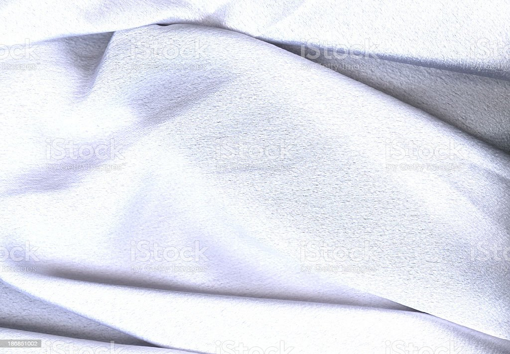 White Satin Sheet royalty-free stock photo