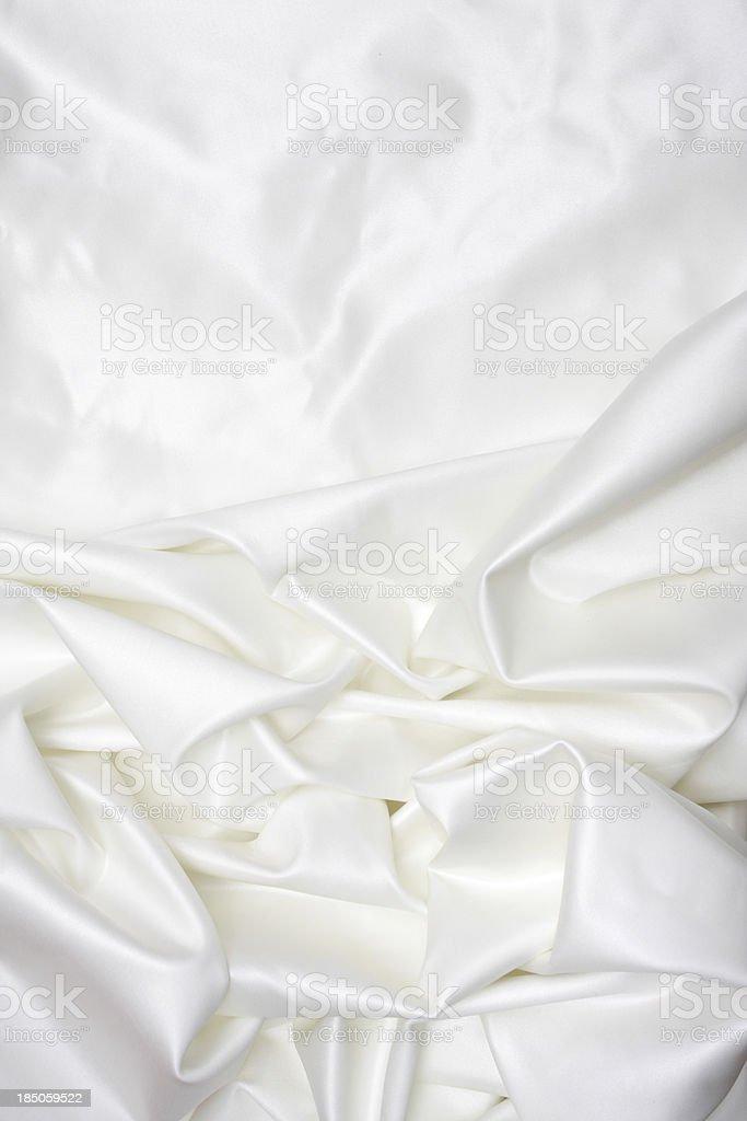 White satin silk background royalty-free stock photo