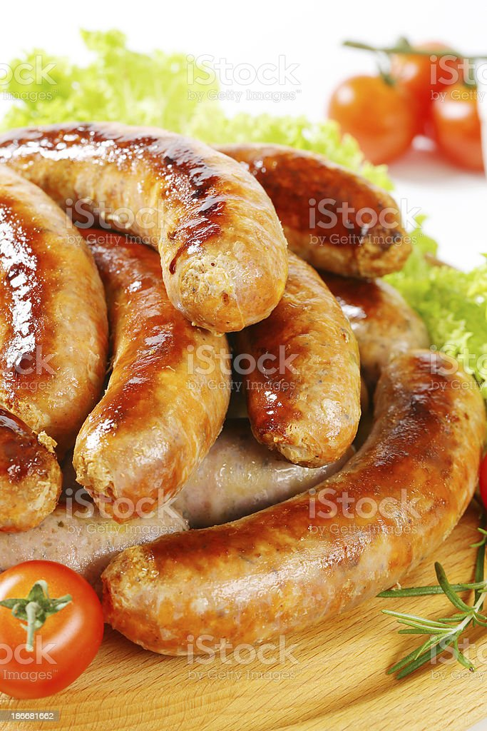 white sausages royalty-free stock photo