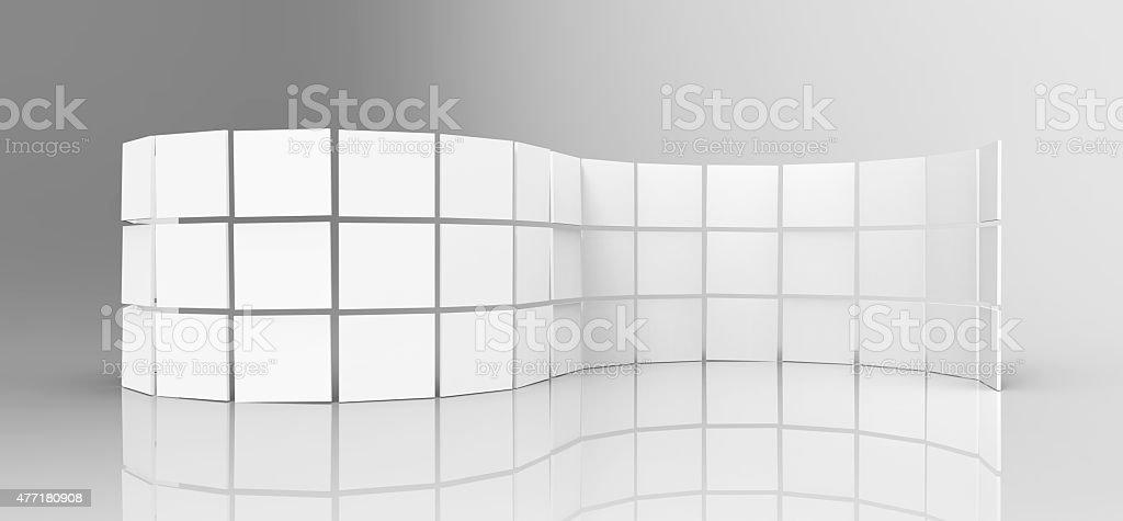 White Screens stock photo